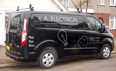 L A Electrical Van